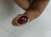 انگشتر یاقوت کهنه زیبا و خوشرنگ بینظیر  در شیپور-عکس کوچک
