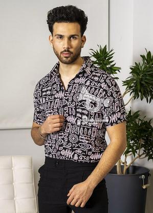 پیراهن هاوایی مردانه  Peder در گروه خرید و فروش لوازم شخصی در قم در شیپور-عکس4