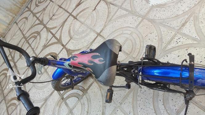 دوچرخه سایز 16 سالم و تمیز در گروه خرید و فروش ورزش فرهنگ فراغت در تهران در شیپور-عکس3