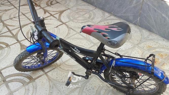دوچرخه سایز 16 سالم و تمیز در گروه خرید و فروش ورزش فرهنگ فراغت در تهران در شیپور-عکس2