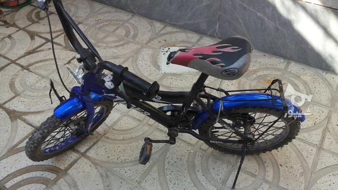 دوچرخه سایز 16 سالم و تمیز در گروه خرید و فروش ورزش فرهنگ فراغت در تهران در شیپور-عکس1