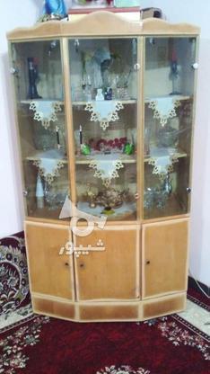 بوفه چوبی سالم وتمیز در گروه خرید و فروش لوازم خانگی در گیلان در شیپور-عکس1