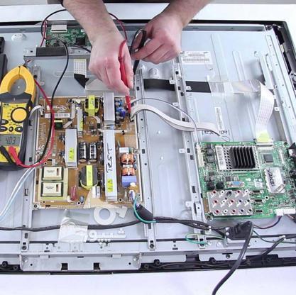 تعمیرتخصصی تلویزیون.ماکروویو.دستگاه گیرنده در گروه خرید و فروش خدمات و کسب و کار در قزوین در شیپور-عکس1