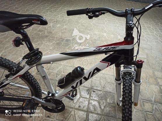 دوچرخه ویوا بلیز نو یک ماه خریداری شده در گروه خرید و فروش ورزش فرهنگ فراغت در مرکزی در شیپور-عکس3