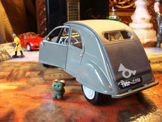 ماکت ماشین ژیان Citroen 2CV 1952 در گروه خرید و فروش ورزش فرهنگ فراغت در تهران در شیپور-عکس3