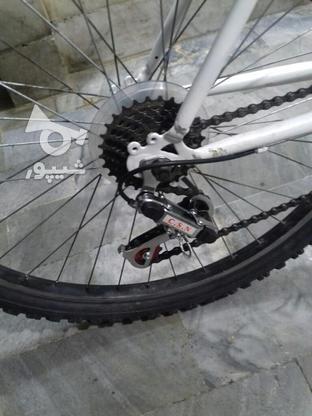 دوچرخه 26 دنده ای حرفه ای در حد تایوانی در گروه خرید و فروش ورزش فرهنگ فراغت در همدان در شیپور-عکس2