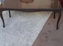 یک عددمیز چوبی  در شیپور-عکس کوچک
