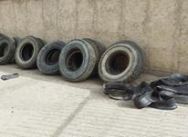 انواع لاستیک 12*24و22/5 شال و تیوب دسته دوم  در شیپور-عکس کوچک