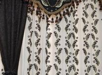 پرده اتاق خواب وپذیرایی با والن ونورگیر .با چوپ پرده وگیره در شیپور-عکس کوچک