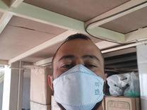 ماسک 3D سه بعدی فیش 5 لایه پک 1000عددی 3لایه ملت بلون واقعی در شیپور