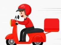 پیک موتوری با موتور در شیپور-عکس کوچک