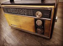 رادیو 4 موج قدیمی و سالم ناسیونال در شیپور-عکس کوچک