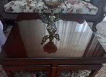 میز عسلی چوب گردو شیک در شیپور-عکس کوچک