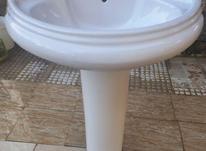 روشویی کاملا سالم همراه با شیر آب نو  در شیپور-عکس کوچک