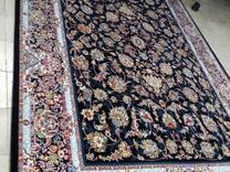 فرش دربار کاشان مدل افشان ماشینی طرح 700 شانه /6متری/ در شیپور