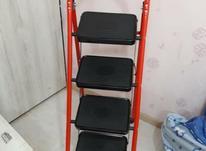نردبان 4 پله نو فلزی در شیپور-عکس کوچک