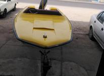 قایق 14 فوت باموتور 55 وجک برق در شیپور-عکس کوچک