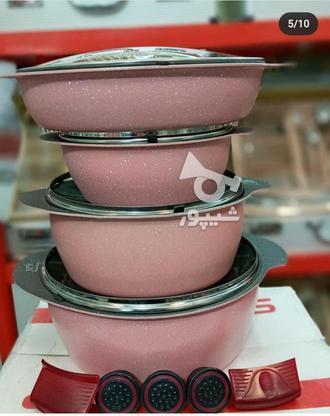 سرویس قابلمه چدن گرانیت اکبند با ضمانت در گروه خرید و فروش لوازم خانگی در تهران در شیپور-عکس3