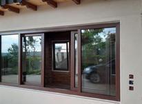 تولید انواع درب پنجره دوجداره upvc (توری) در شیپور-عکس کوچک