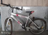 دوچرخه دنده ای سفید 26 کم کار در شیپور-عکس کوچک