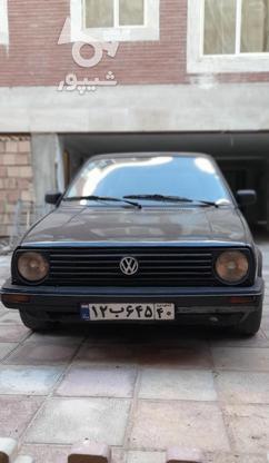 گلف ساده 1992 در گروه خرید و فروش وسایل نقلیه در تهران در شیپور-عکس1