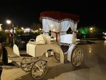 درشکه کالسکه ارابه گاری عروسی مسافری اسب  در شیپور