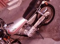 موتورسیکلت درحد صفر نقره ای پلاک ملی در شیپور-عکس کوچک