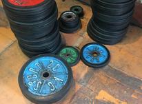 تعدادی محدود صفحه وزنه ، دمبل و میله هالتر در شیپور-عکس کوچک