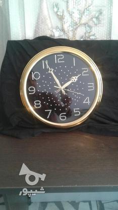 ساعت دیواری نقره و طلایی در گروه خرید و فروش لوازم خانگی در مازندران در شیپور-عکس2