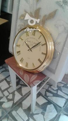 ساعت دیواری نقره و طلایی در گروه خرید و فروش لوازم خانگی در مازندران در شیپور-عکس5