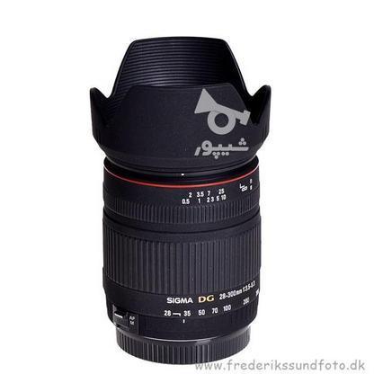 لنز سیگما Sigma 28 – 300mm F3.5 – 6.3 DG Macro/ بدنه D90  در گروه خرید و فروش لوازم الکترونیکی در البرز در شیپور-عکس2