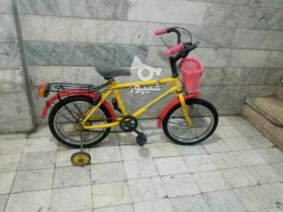 دوچرخه 16 سالم سالم در گروه خرید و فروش ورزش فرهنگ فراغت در سمنان در شیپور-عکس1