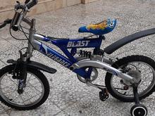 دوچرخه سایز16 کمکفنر دار با پایه کمکی در شیپور
