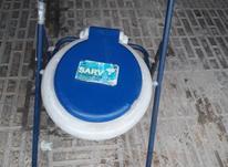 توالت فرنگی سیار سالم کم کارکرد در شیپور-عکس کوچک