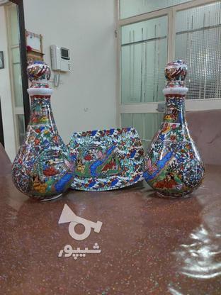 سه تیکه ظرف قدیمی در گروه خرید و فروش لوازم خانگی در تهران در شیپور-عکس1