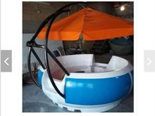 قایق تفریحی پدالی پارویی قو با نشان استاندارد در شیپور