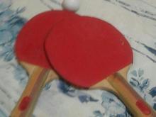 چوب تنیس روی میز در شیپور