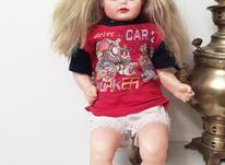عروسک قدیمی در شیپور-عکس کوچک