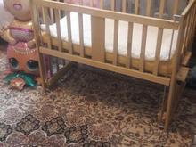 تخت خواب بچه قابلیت اتصال به تخت مادر در شیپور