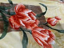 فروش پتوی دونفره گل برجسته خارجی نو در شیپور