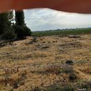 زمین بر جاده اردبیل مشگین یک کیلومتری اردبیل