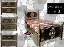 تخت خواب تک نفره  یک نفره لمسه و چوبی در شیپور-عکس کوچک