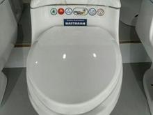 توالت فرنگی باسیستم تخلیه  در شیپور