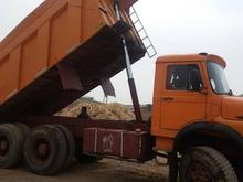 کامیون بنز جفت کمپرس در شیپور
