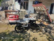 دستگاه کوکجه 217همراه یدک کش در شیپور