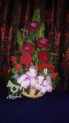 گل مصنوعی کلاسیک باقیمت عالی .. در گروه خرید و فروش لوازم خانگی در گیلان در شیپور-عکس1