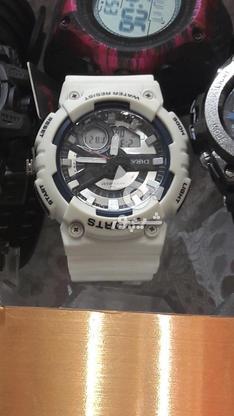 ساعت جی شاک اسپرت رنگ سفید بسیار زیبا  در گروه خرید و فروش لوازم شخصی در خراسان رضوی در شیپور-عکس3