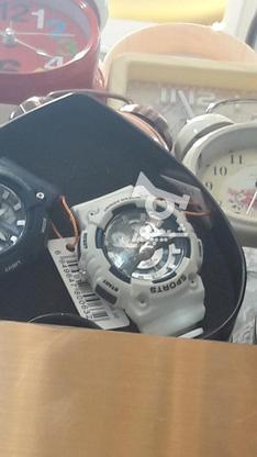 ساعت جی شاک اسپرت رنگ سفید بسیار زیبا  در گروه خرید و فروش لوازم شخصی در خراسان رضوی در شیپور-عکس2