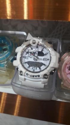 ساعت جی شاک اسپرت رنگ سفید بسیار زیبا  در گروه خرید و فروش لوازم شخصی در خراسان رضوی در شیپور-عکس1