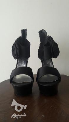 کفش مجلسی مشکی سایز 40  در گروه خرید و فروش لوازم شخصی در تهران در شیپور-عکس2